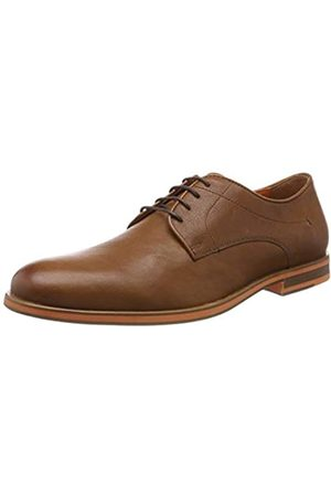Geox U Bayle B, Zapatos Derby para Hombre, (Cognac C6001)