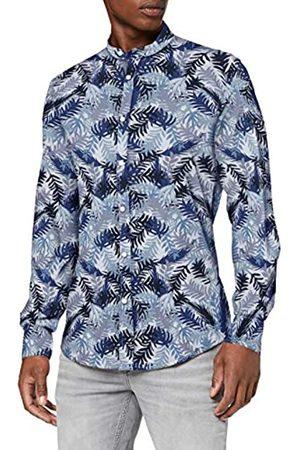 Antony Morato Camicia Collo Coreana Placchetta Apertura Polso Camisa Casual