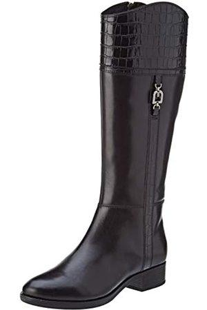Geox D Felicity H, Botas Altas para Mujer, (Black C9999)