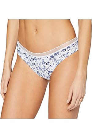 Lovable My Daily Comfort Printed Ropa Interior, Bianco + BLU