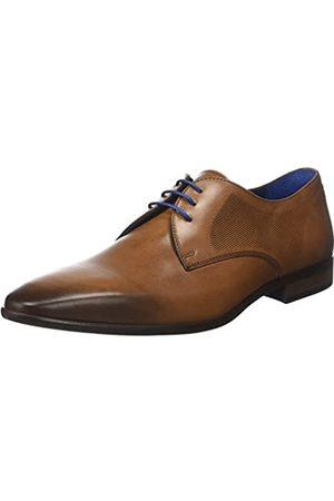 Azzaro VERDOL, Zapatos de Cordones Derby para Hombre, (Cognac)