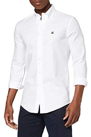 BROOKS BROTHERS Camicia Milano Logo Manica Lunga Camisa