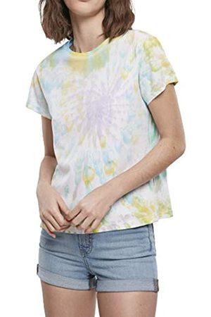 Urban classics T-Shirt Ladies Tie Dye Boyfriend tee Camiseta