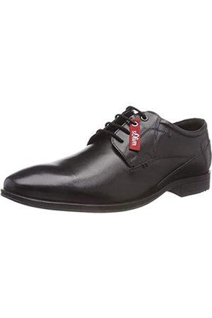 s.Oliver 5-5-13203-21 001, Zapatos de Cordones Oxford para Hombre, (Black 1)