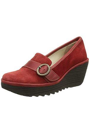 Fly London Yond771fly, Zapatos de tacón con Punta Cerrada para Mujer, (Red)