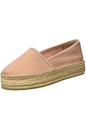 Tommy Hilfiger Sporty Basic Flatform Espadrille, Zapatos de Tacón para Mujer, (Sandbank TRK)