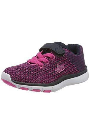 LICO Famos Vs, Zapatillas de Marcha Nórdica para Niñas, (Marine/Pink Marine/Pink)