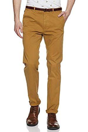 Scotch & Soda Nos Stuart-Slim Fit Cotton/elastan Garment Dyed Chino Pant Pantalones