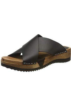 Sanita Tida Sport Flex Sandale, Mules para Mujer, (Black 2)