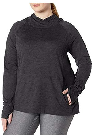 Amazon Essentials Plus Size Brushed Tech Stretch Popover Hood Fashion-Hoodies