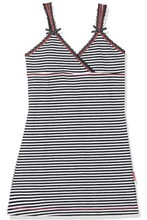 Claesen's Claesen´s Girls Dress Ropa Interior de Deporte, (Navy/White Stripes 002)