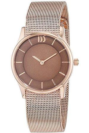 Danish Design It's_amaz-Reloj analógico de Cuarzo Chapado en Acero Inoxidable 3320202