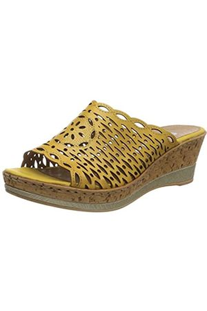 Remonte D4752, Mules para Mujer, (Gelb 68)
