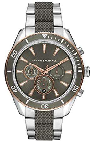 Armani Reloj Cronógrafo para Hombre de Cuarzo con Correa en Acero Inoxidable AX1830