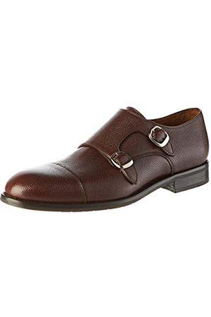 Lottusse L6964, Zapatos Doble Hebilla para Hombre, (Cortina Moka)