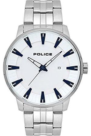 Police Reloj Cronógrafo para Hombre de Cuarzo con Correa en Acero Inoxidable PL.15391JS/04M