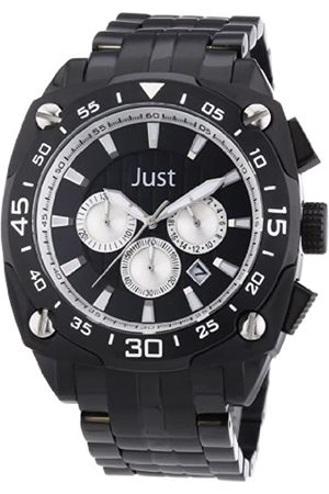 Just Watches 48-STG2373BK-SL - Reloj analógico de Cuarzo para Hombre