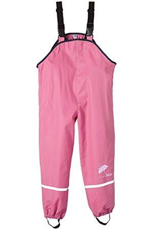 Sterntaler Pantalón impermeable con peto para niñas, Sin forro, Edad: 9-12 Meses, Talla: 80