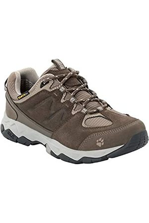Jack Wolfskin Mtn Attack 6 Texapore Low W Wasserdicht, Zapatos Rise Senderismo para Mujer, Coconut Brown/Grey 5222