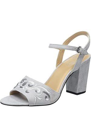Daniel Hechter 916545803400, Sandalia con Pulsera para Mujer, (Grey 1500)