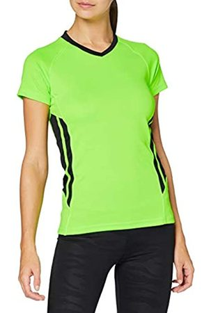 KUSTOM KIT Kk940 Camisa Deportiva, (Flourescent Lime/Black FLO Lime/Black)