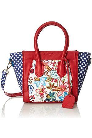 Laura Vita Dax, Shoppers y bolsos de hombro Mujer, Rot (Rouge)