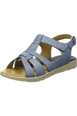 Padders Petal, Sandalias de Talón Abierto para Mujer, (Blue/Combi 52)