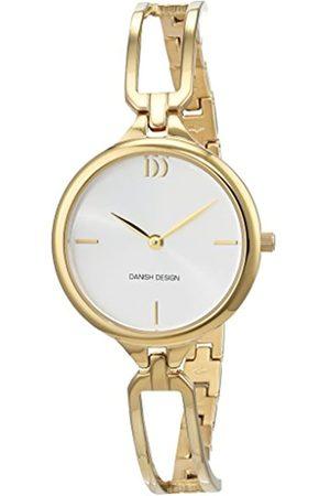 Danish Design Reloj Cuarzo para Mujer con Plata Analogico Y Oro Chapado en Acero Inoxidable 3320215