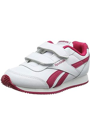 Reebok Royal Cljog 2 2V, Zapatillas de Deporte para Niñas, (White/Rugged Rose 000)