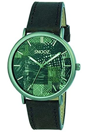 Snooz RelojAnalógicoparaHombredeCuarzoconCorreaenCueroSaa1041-77