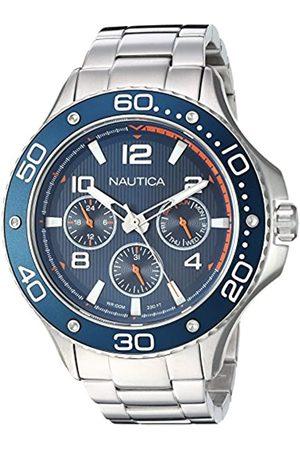 Nautica RelojAnalogicoparaHombredeCuarzoconCorreaenAceroInoxidableNAPP25006