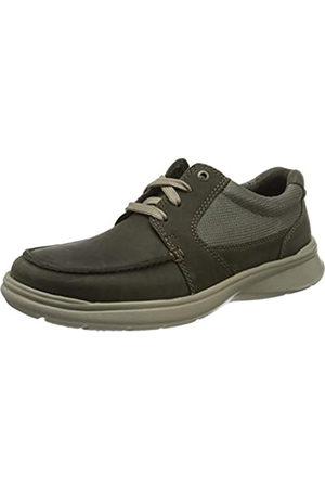 Clarks Cotrell Lane 261486527, Zapatos de Cordones Derby para Hombre, (Olive Combi Olive Combi)