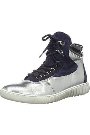 Marc Shoes 69605 - Zapatillas Altas de Cuero Mujer, Color