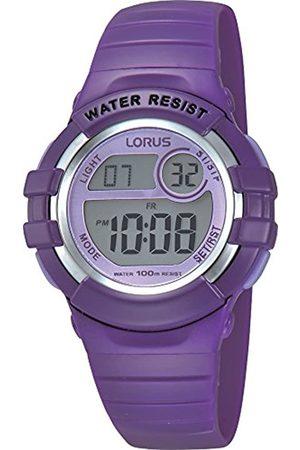 Lorus Reloj Cronógrafo para Chica de Digital con Correa en PU R2385HX9