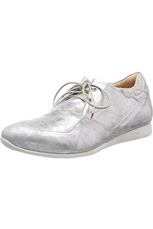 Think! Raning_282095, Zapatos de Cordones Brogue para Mujer, (Silber 04)