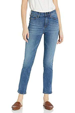 Goodthreads Mid-Rise Slim Straight Jeans, Blue)