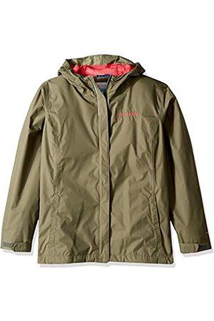 Columbia Niña Chaqueta impermeable, Arcadia Jacket, Nailon, Talla: XL