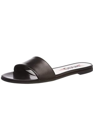 HUGO BOSS Austin Slide-C, Zuecos para Mujer, (Black 001)