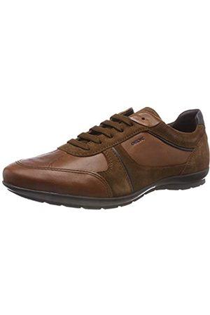 Geox Uomo Symbol A, Zapatos de Cordones Oxford para Hombre, (Browncotto C6003)