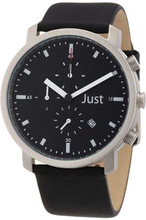 Just Watches 48-S3195-BK - Reloj analógico de Cuarzo Unisex