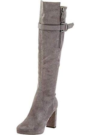 Guess ABALENE2/STIVALE (Boot)/Fabric, Botas Altas para Mujer, (Grey Grey)