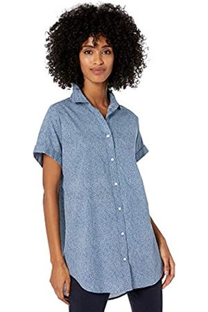 Goodthreads Washed Cotton Short-Sleeve Tunic Button-Down-Shirts