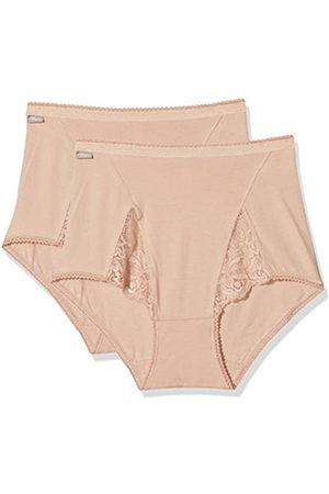 Playtex Mujer Culottes - Cherish Cotton & Lace Maxi X2 Braguita