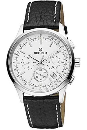 ORPHELIA Reloj Cronógrafo para Hombre de Cuarzo con Correa en Cuero OR81700
