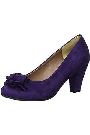 Hirschkogel by Andrea Conti 4002701, Zapatos de Tacón para Mujer, Morado (Purple 228)