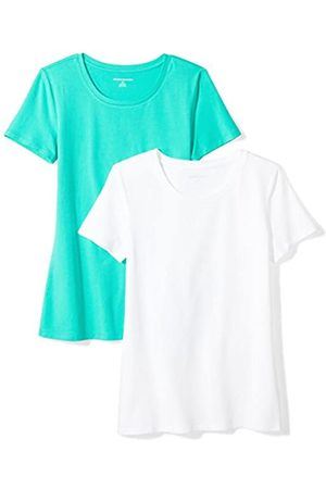 Amazon 2-Pack Short-Sleeve Crewneck Solid T-Shirt Camiseta