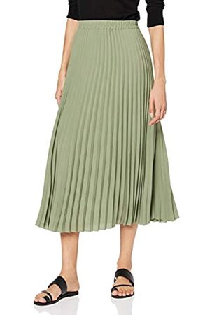 Selected Slfjosie MW Midi Skirt Ex Falda