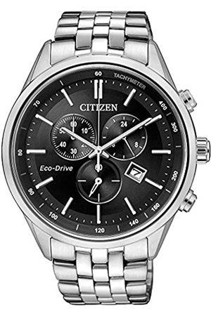 Citizen Reloj Cronógrafo para Hombre de Cuarzo con Correa en Acero Inoxidable AT2141-87E