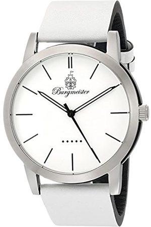 Burgmeister BM523-186-1 - Reloj analógico de Cuarzo para Hombre con Correa de Silicona