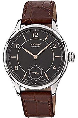 DUGENA Reloj de Hombre XL analógico Premium diseño Steampunk Piel 7000115